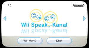 Wii Speak-Kanal