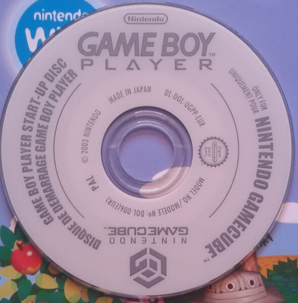 Datei:GameCube Game Boy Player Disc.jpg